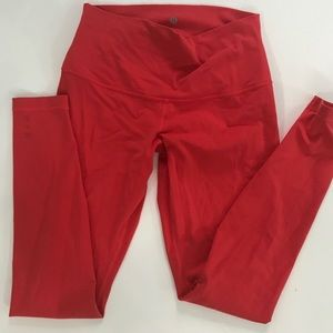 Lululemon Hot Orange Pant Size 10